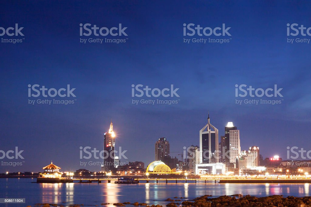 Qingdao Cityscape stock photo