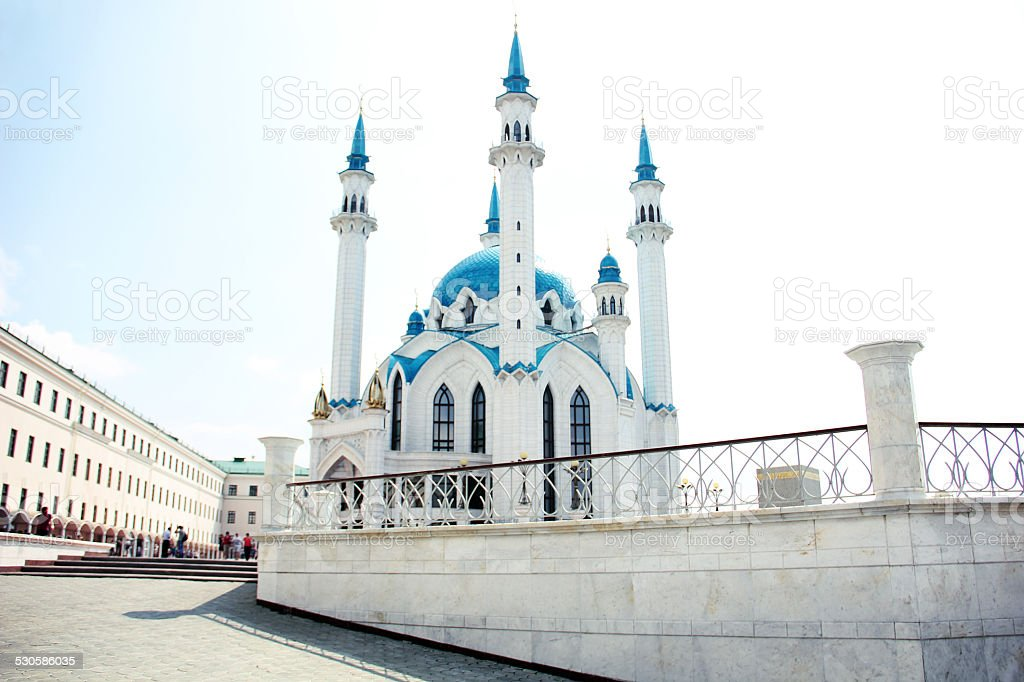Qol Sharif mosque in Kazan, Russia stock photo