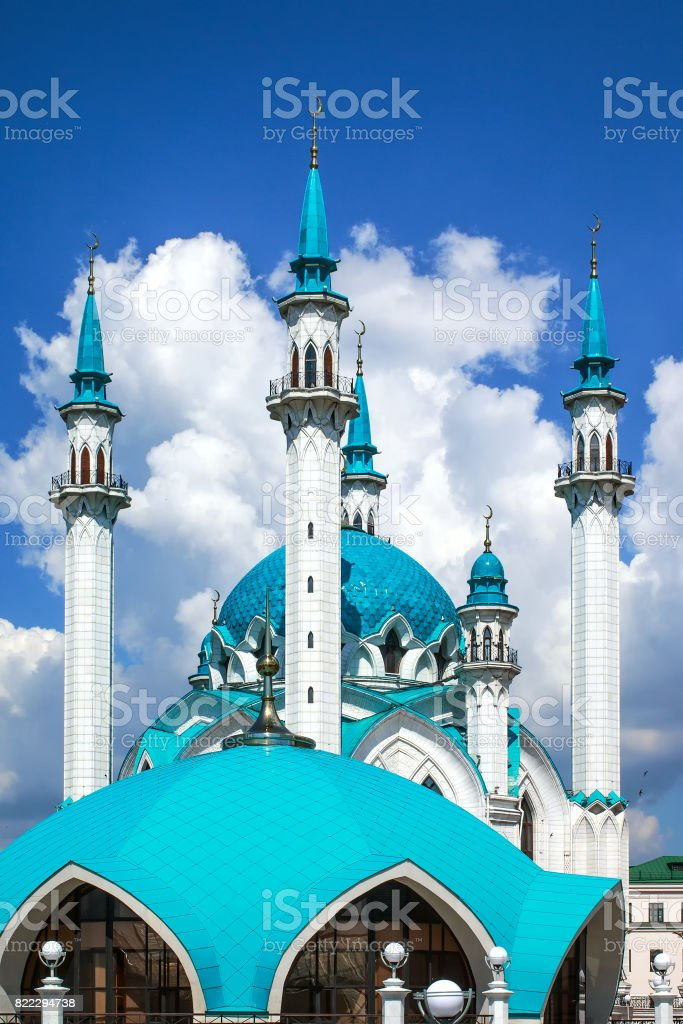 Qol Sharif mosque in Kazan, Russia stock photo
