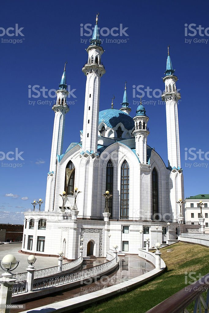 Qolsharif Mosque in Kazan royalty-free stock photo