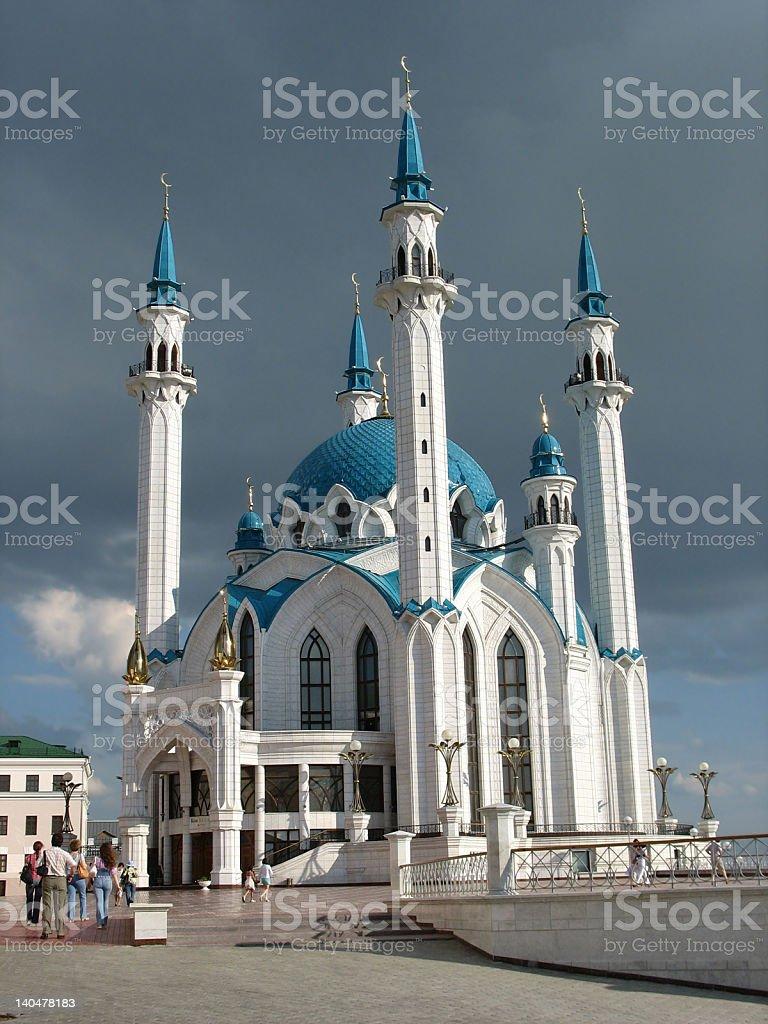 Qolsharif Mosque, Kazan, Tatarstan, Russia Federation stock photo