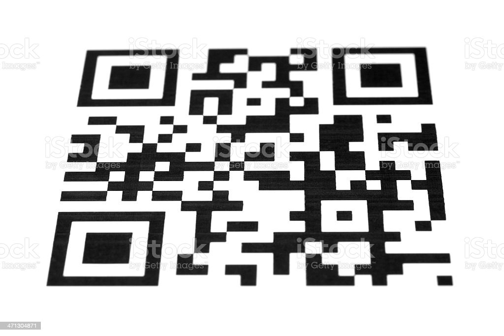 qr code stock photo