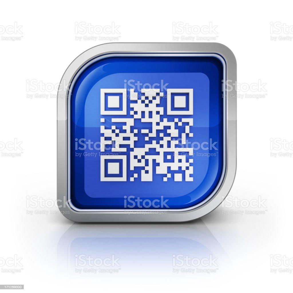 qr-code icon royalty-free stock photo