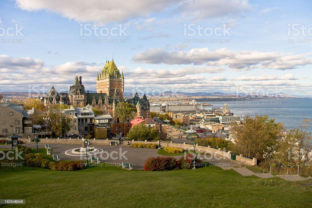 Québec City royalty-free stock photo