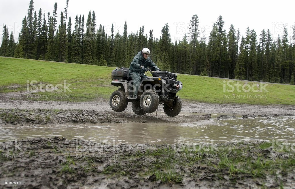 Quad Action Series royalty-free stock photo