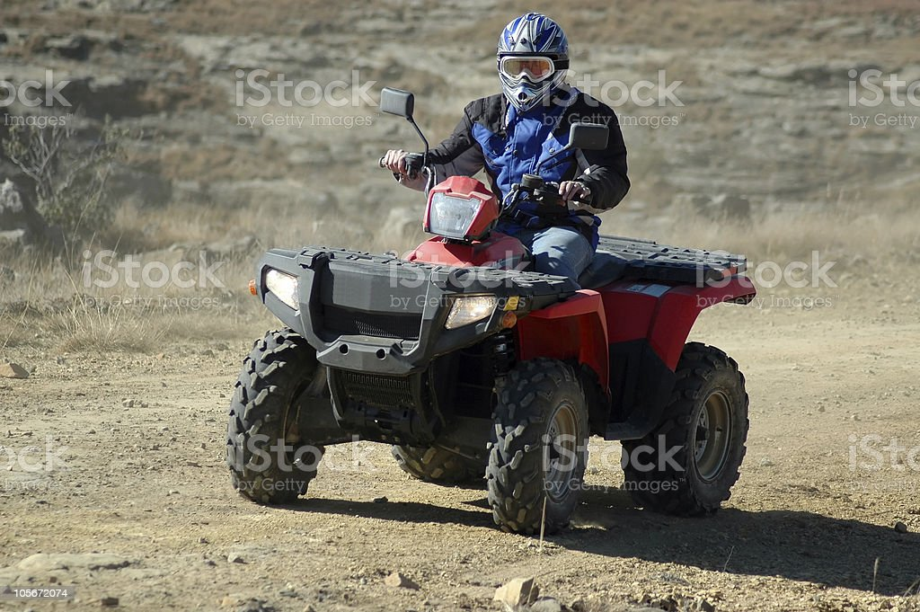 Quad Bike stock photo