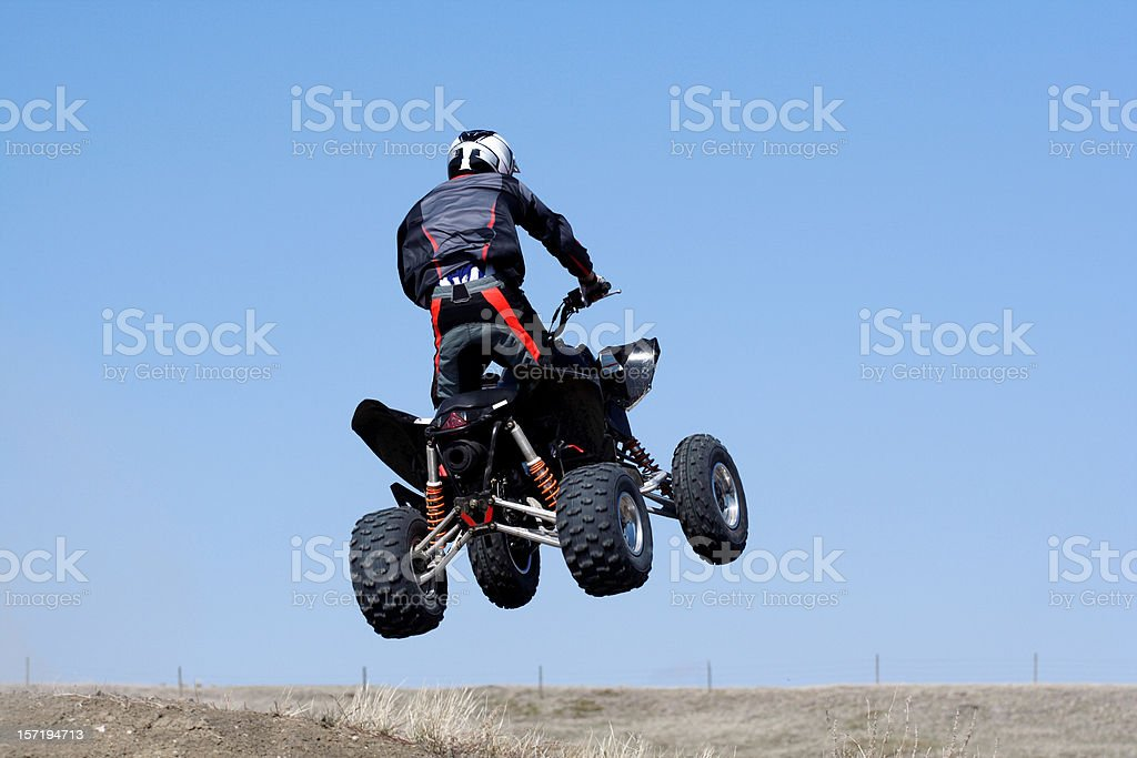 Quad Racing royalty-free stock photo