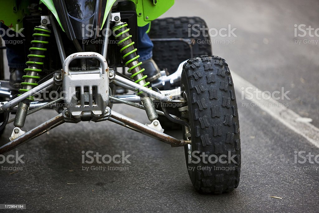 Quad Racing stock photo