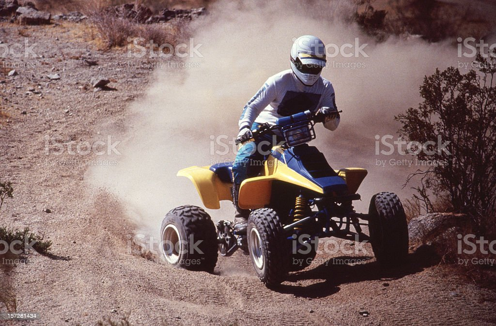ATV Quad Runner stock photo