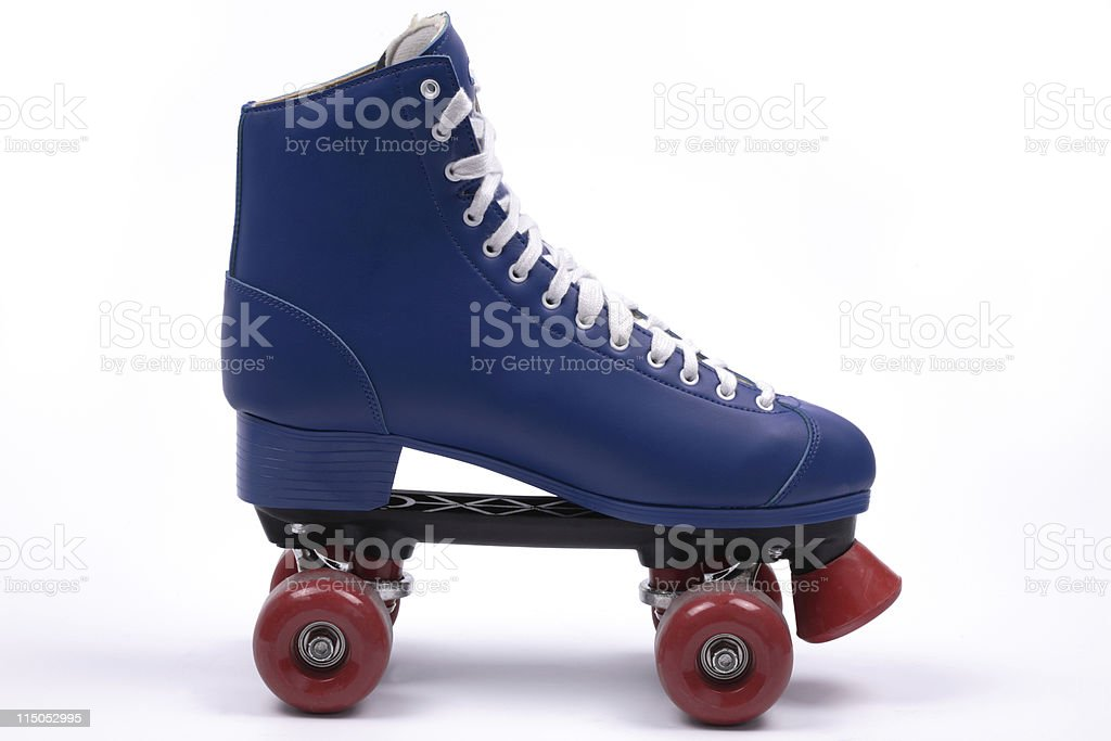 Quad skate, isolated stock photo