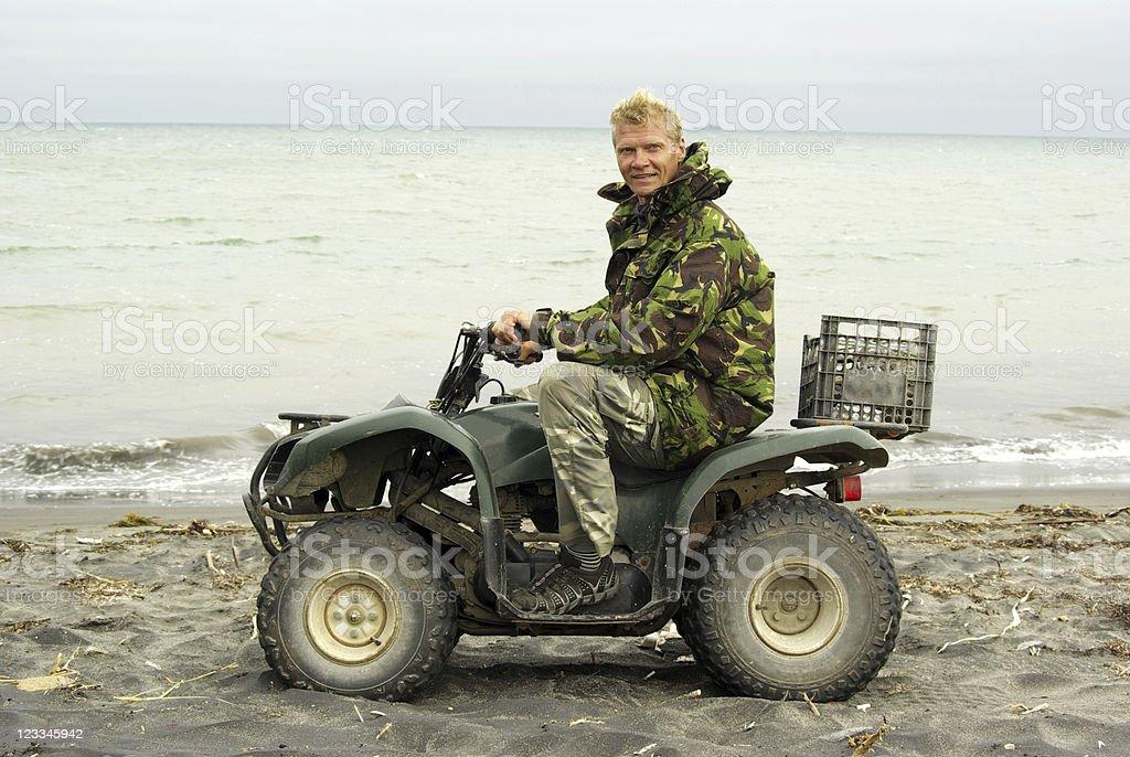 Quadbike stock photo