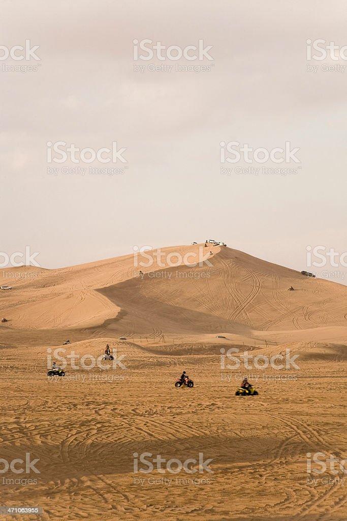 Quadbike Racing United Arab Emirates royalty-free stock photo