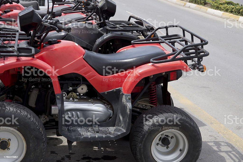 quadbikes royalty-free stock photo