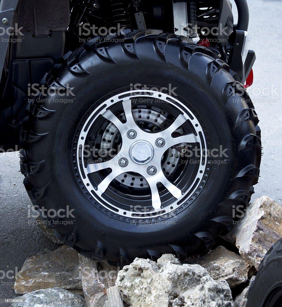 quadbikes stock photo