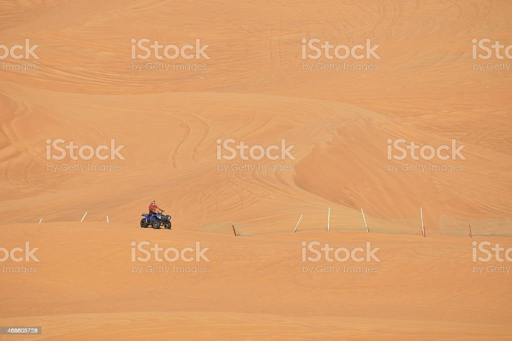 Quadbiking stock photo