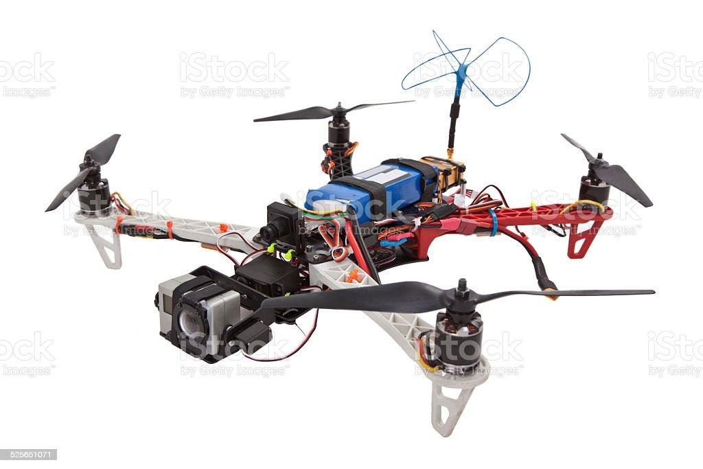 Quadcopter stock photo