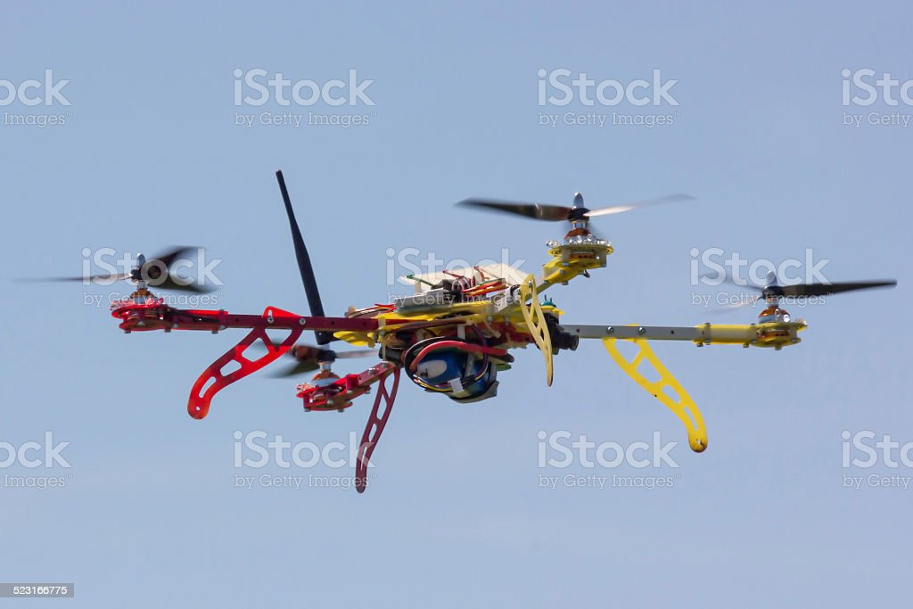 Quadrocopter stock photo
