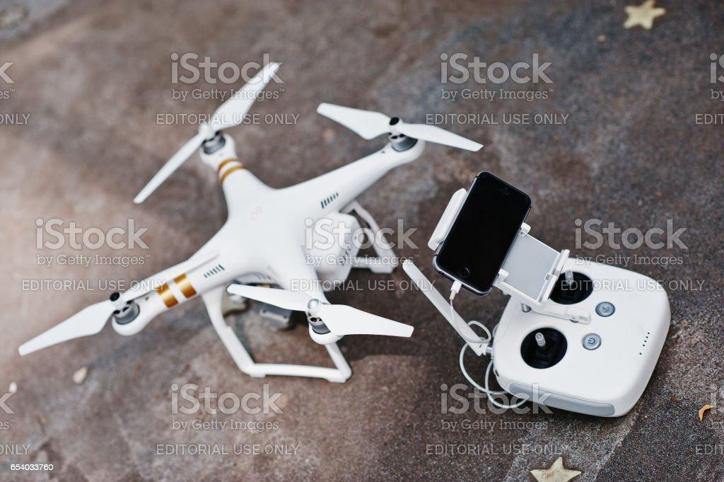 Quadrocopters 4 Phantom stock photo