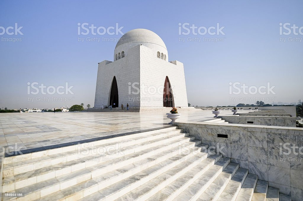 Quaid-e-Azam stock photo