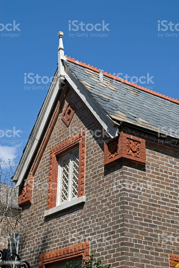 Quaint Architectural Detail royalty-free stock photo