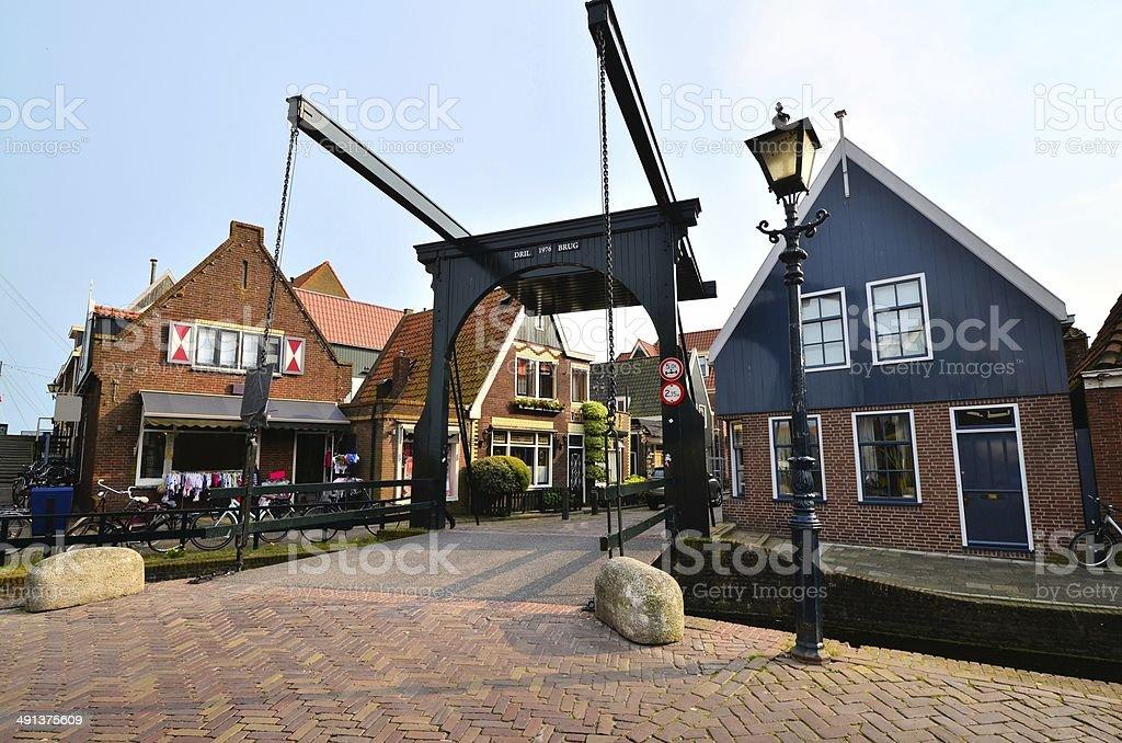 Quaint Dutch architecture stock photo