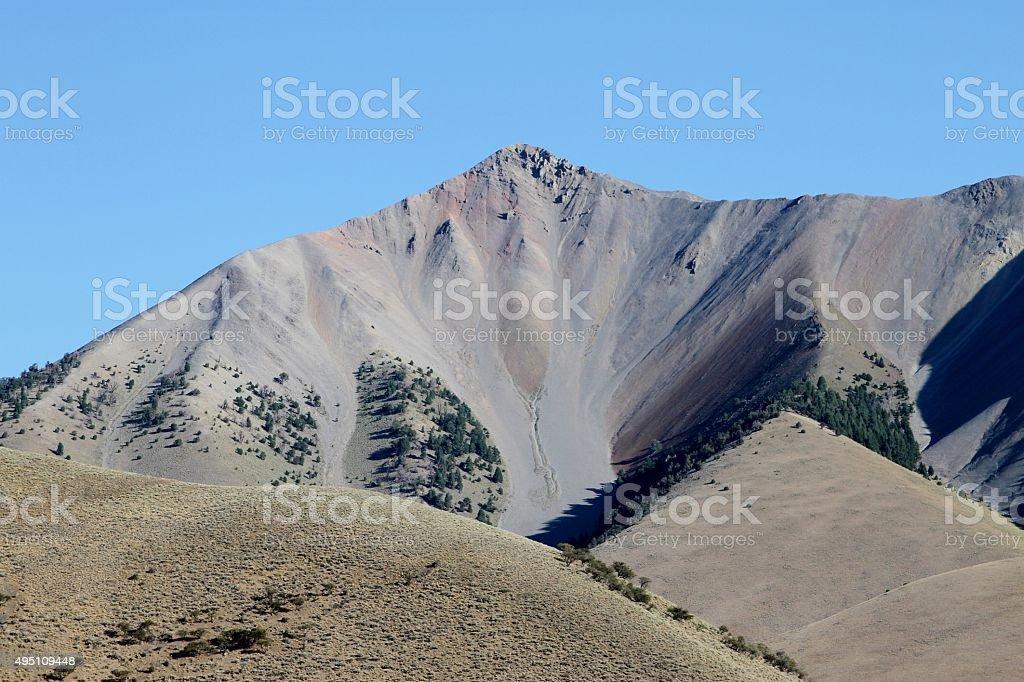 Quakey Mountain. stock photo