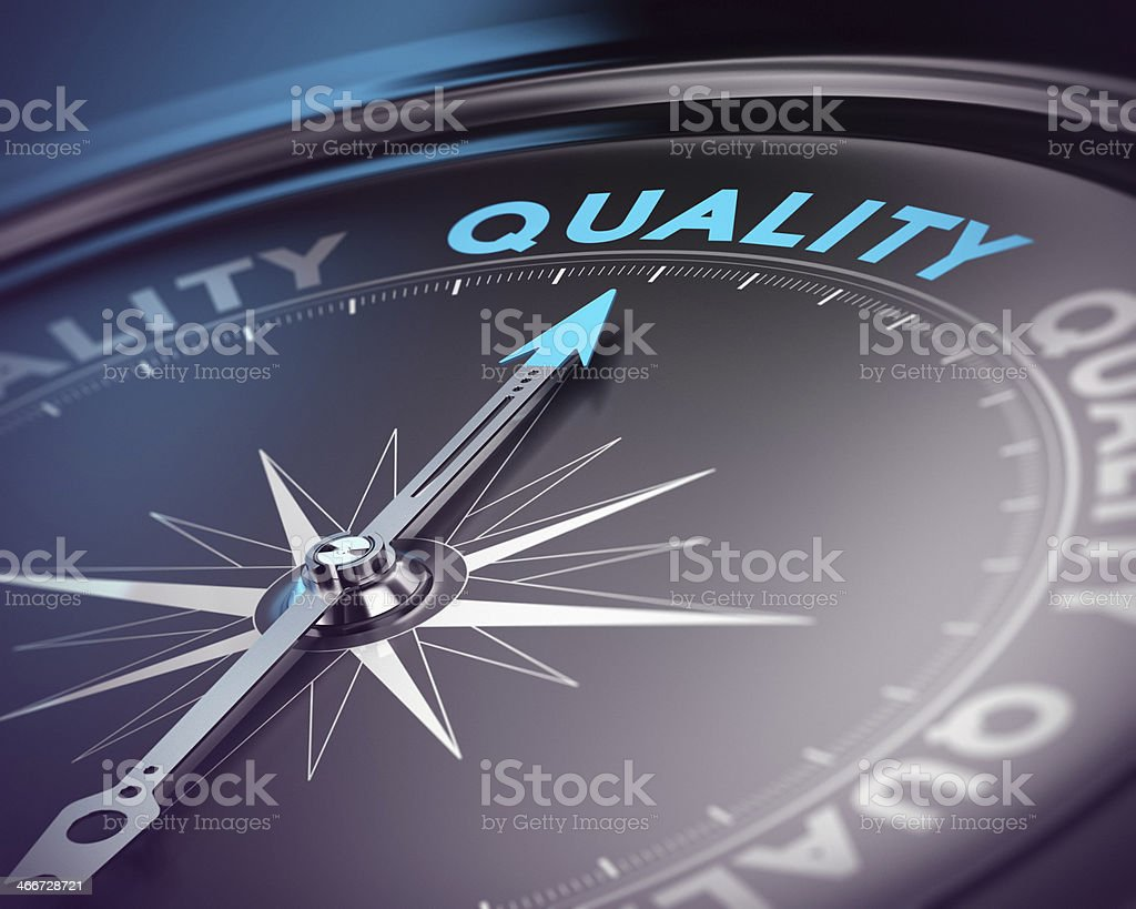 Quality Assurance Concept stock photo