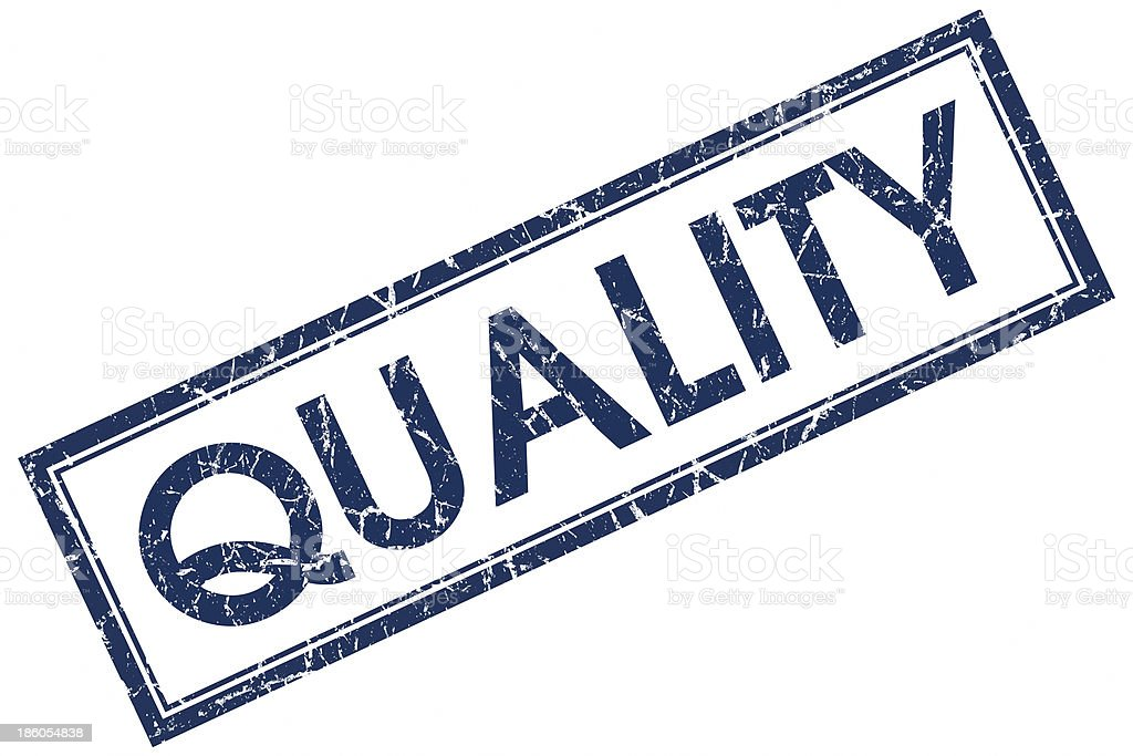 quality blue stamp royalty-free stock photo