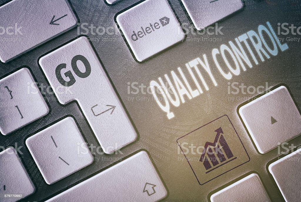 Quality Control Concept stock photo