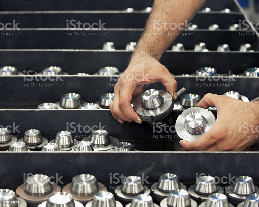 Quality control in Factory stock photo