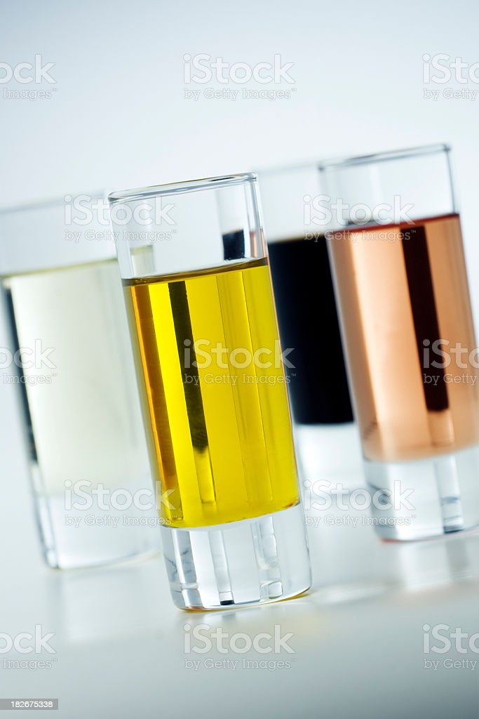 Quality control oil. stock photo