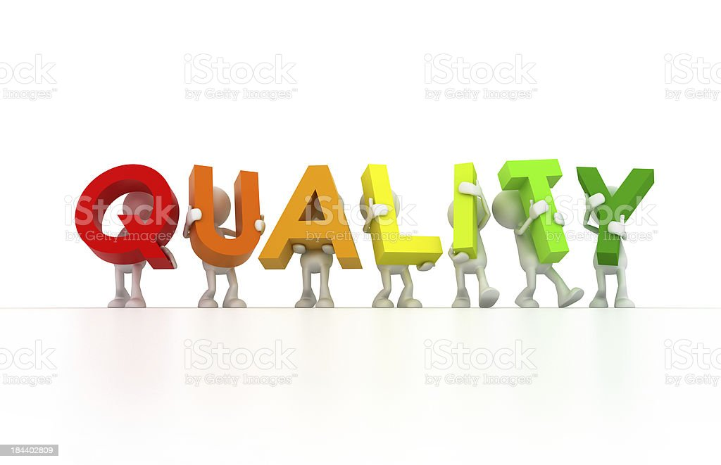 Quality control team royalty-free stock photo