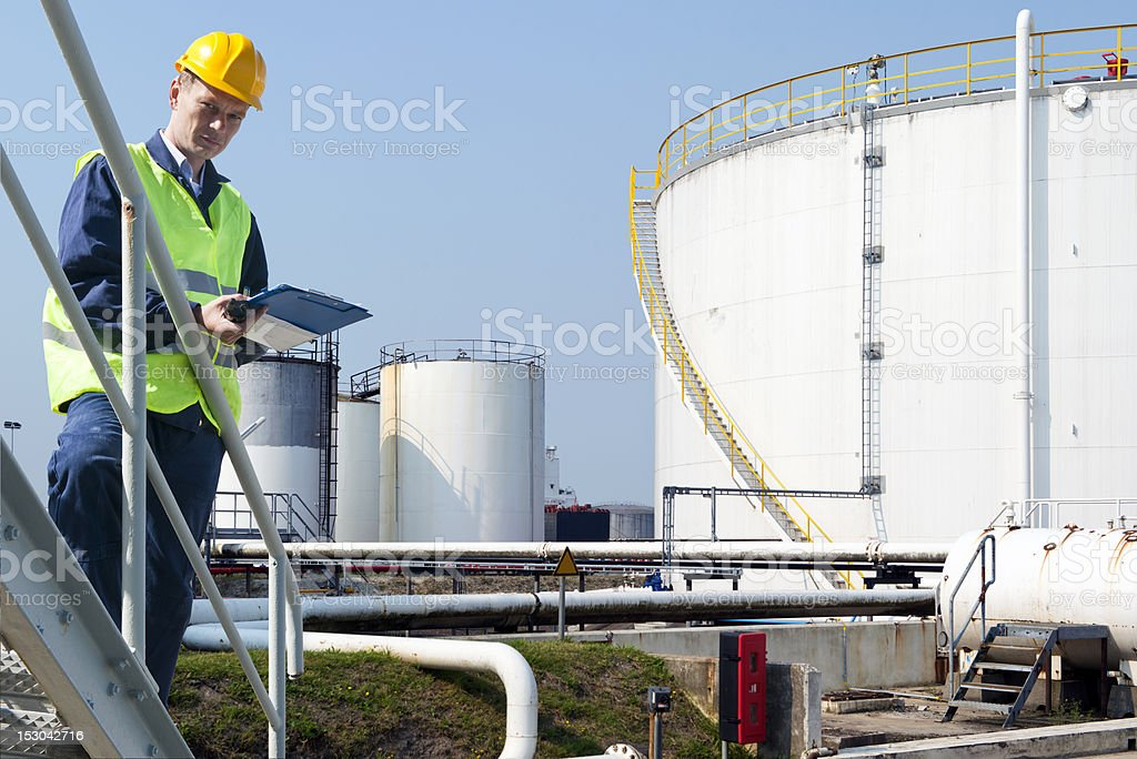 Quality engineer stock photo