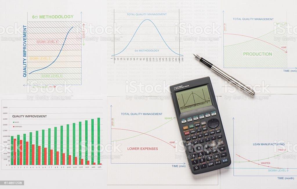 Quality Management stock photo