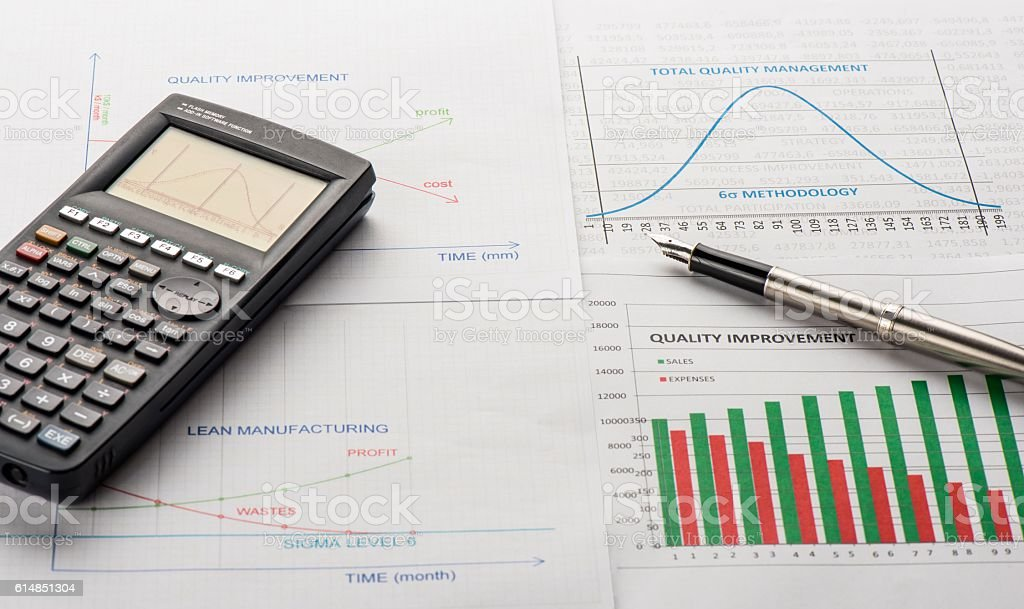 Quality Management stock photo