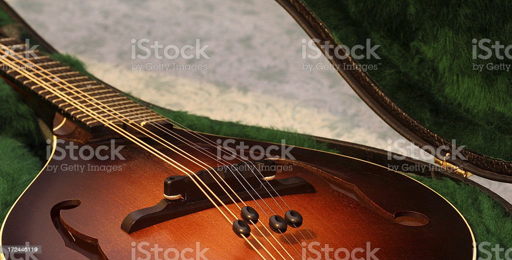 Quality Mandolin royalty-free stock photo