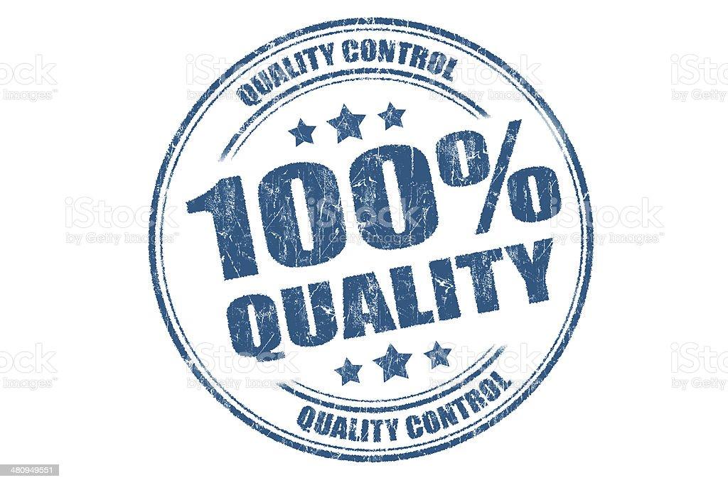 100% Quality royalty-free stock photo