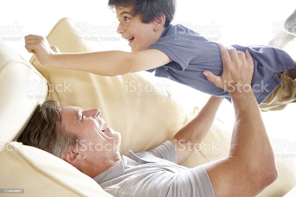 Quality time together royalty-free stock photo