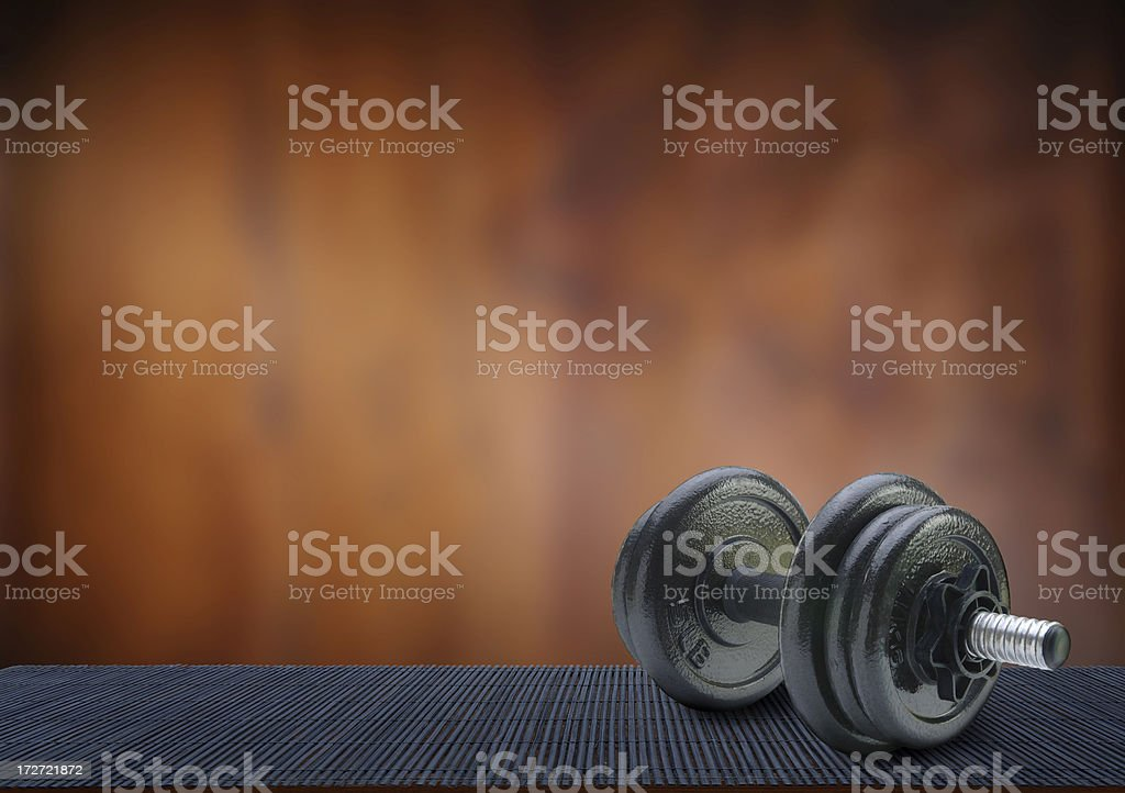 Quality Workout royalty-free stock photo