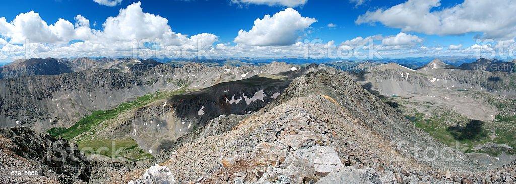 Quandary Peak stock photo