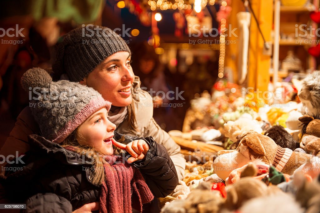 Quantities of Christmas gifts stock photo