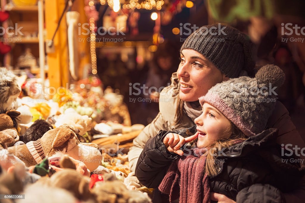 Quantities of Christmas gifts - vintage look stock photo