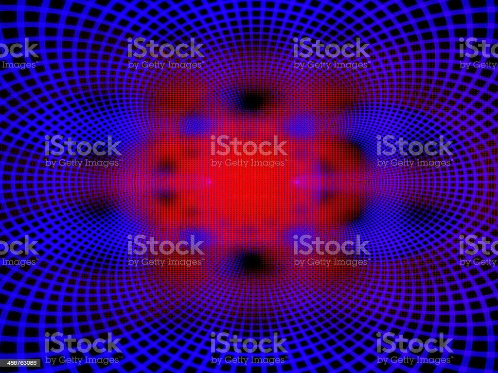Quantum computer processors stock photo