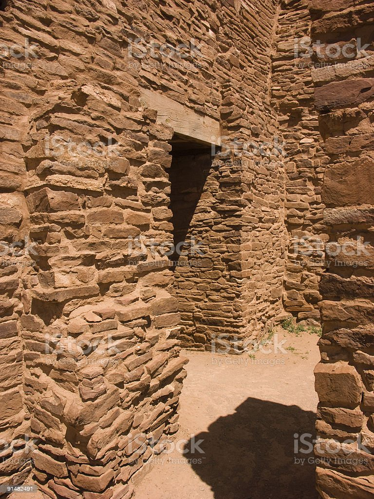Quarai Ruins Four stock photo