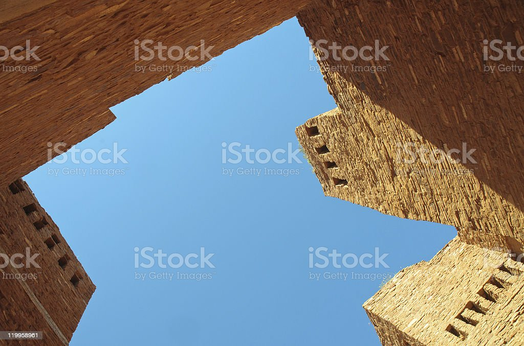 Quarai ruins stock photo