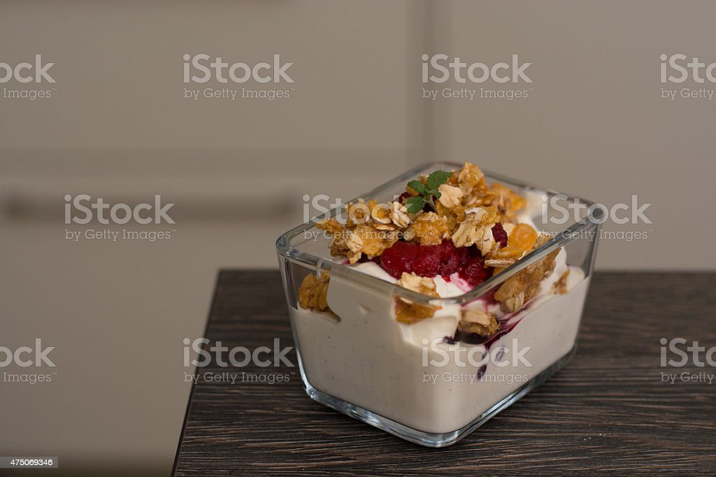 Quark Dessert royalty-free stock photo