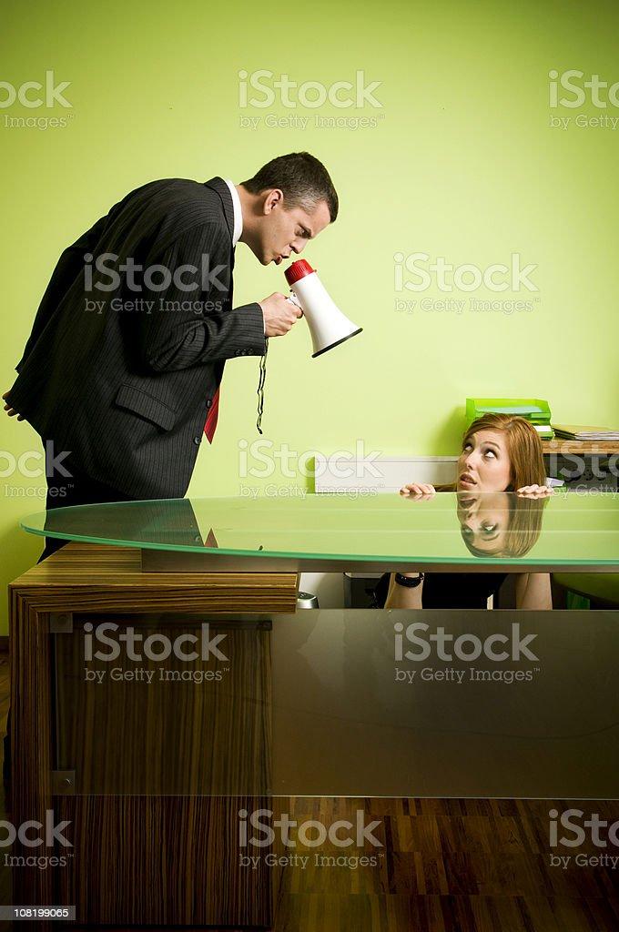 Quarrel royalty-free stock photo