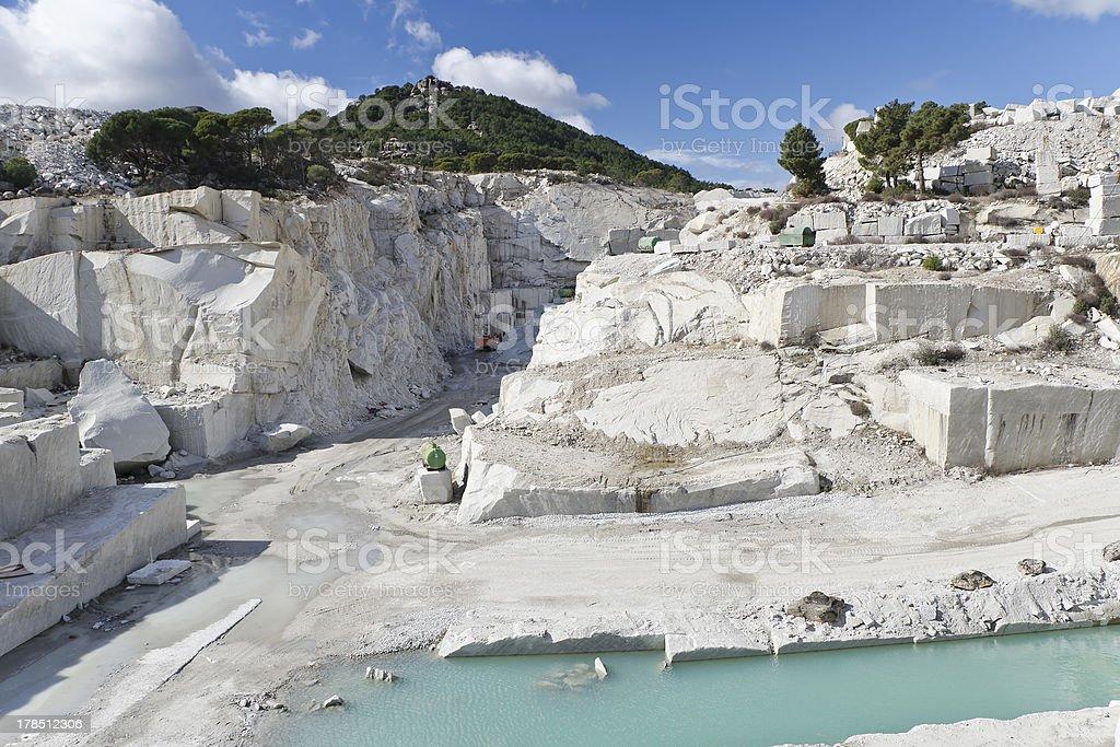 quarry royalty-free stock photo