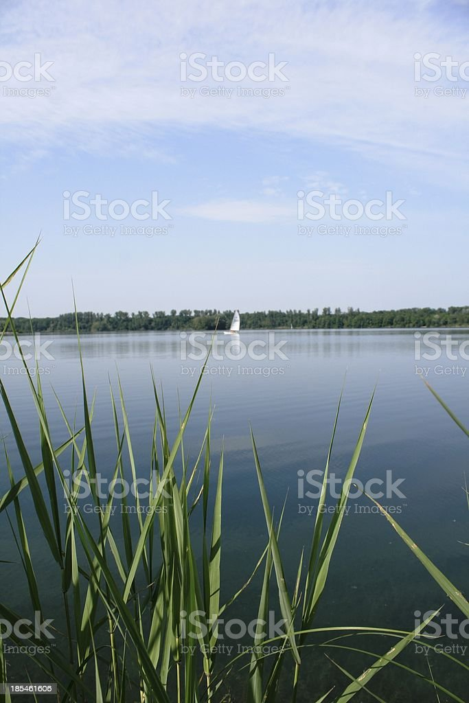 quarry pond royalty-free stock photo