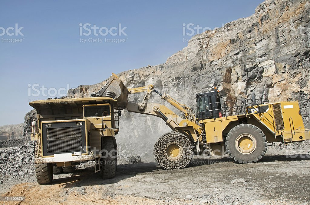Quarry Truck royalty-free stock photo